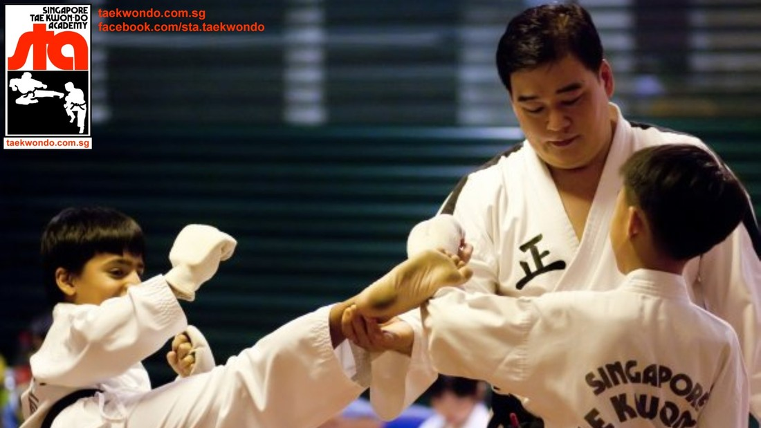 Master Albert Ong Head Instructor STA Taekwondo Civil Service Club Singapore