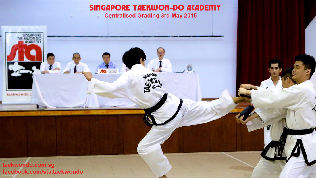 STA Taekwondo Centralised Grading Master Albert Ong Civil Service Club Tanjong Pagar Cantonment Pinnacle Duxton City