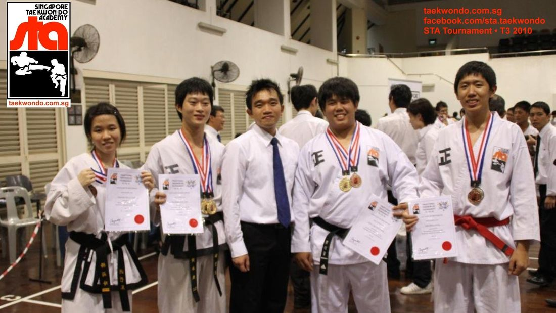 Traditional Taekwondo Tournament T3 2010 Team with Head Instructor Darren Huan